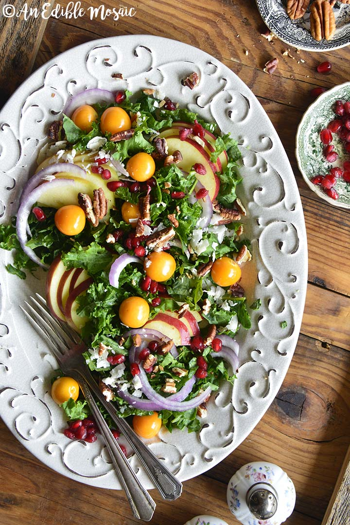 Christmas Salad Recipes.Festive Christmas Salad Recipe All Decked Out In Red And