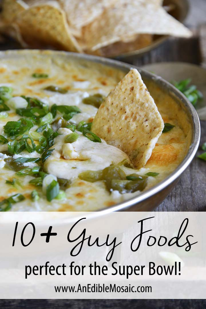10+ Guy Foods Perfect for the Super Bowl