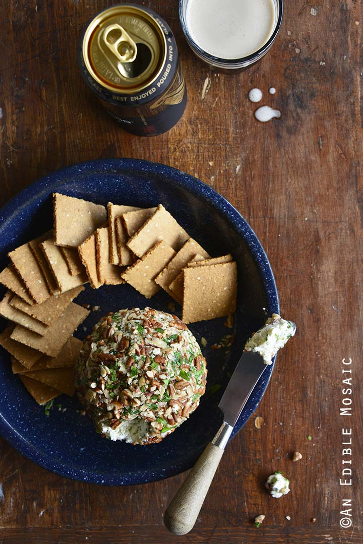 Easy Ranch Cheese Ball Recipe with Guinness