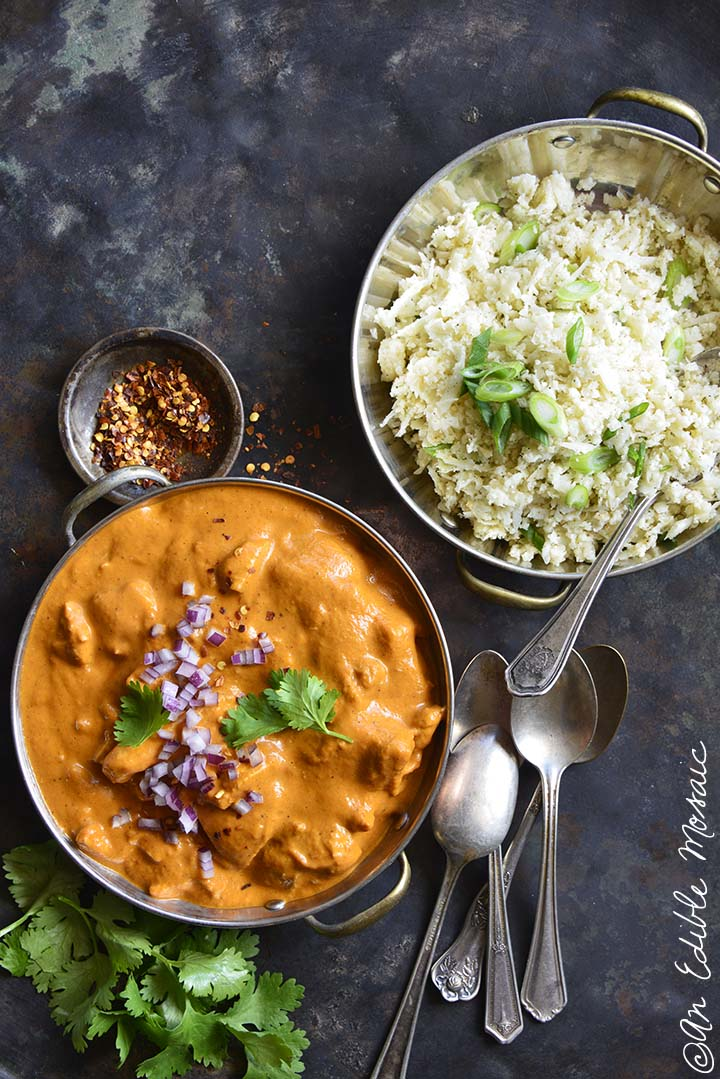 Easy Low Carb Butter Chicken - An Edible Mosaic™