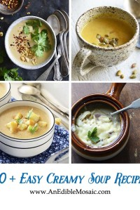 10+ Easy Creamy Soup Recipes Collage