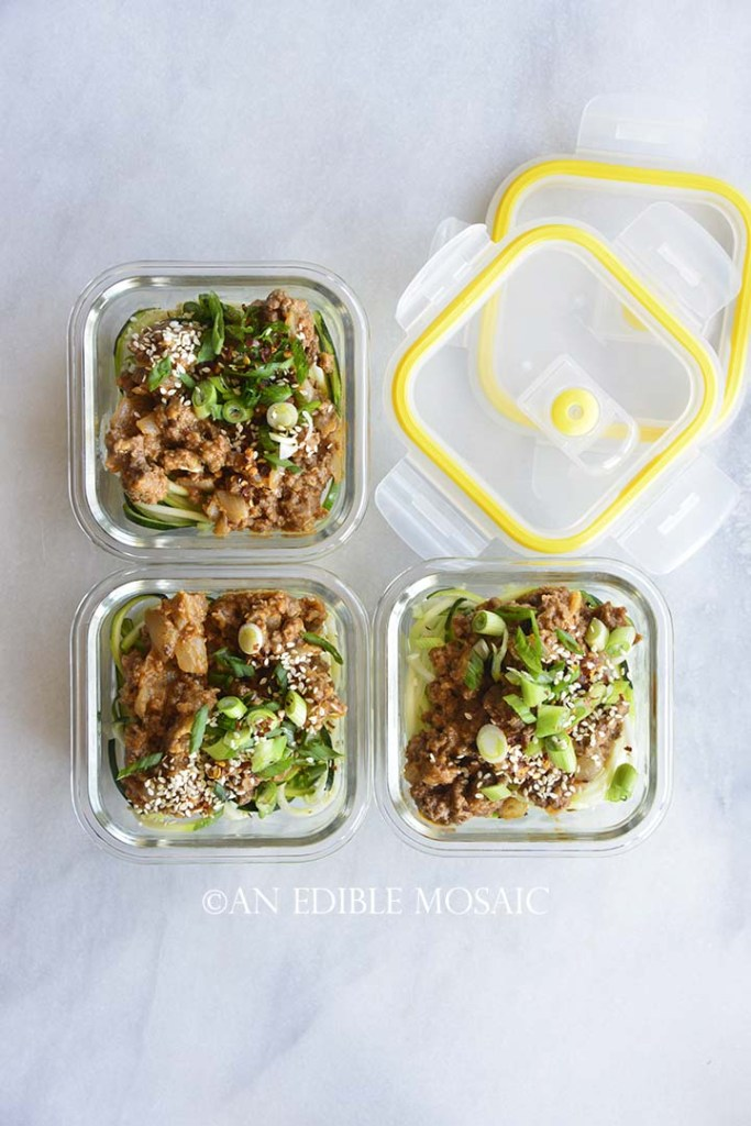 Meal Prep Dan Dan Noodles