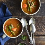 Heart Healthy Soup Recipe with Lean Beef and Vegetables