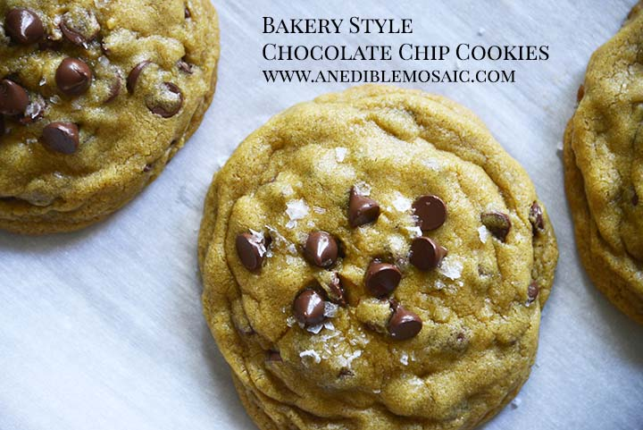 Bakery Style Chocolate Chip Cookies Recipe with Description
