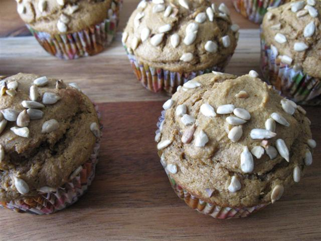 Pumpkin Spice Muffins with Apple Butter in the Batter (Recipe Coming Soon!)