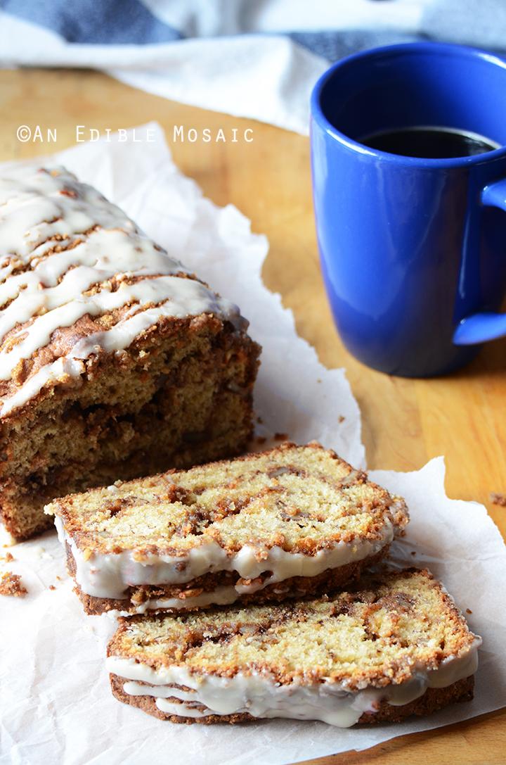 Sour Cream Coffee Cake  Bananas