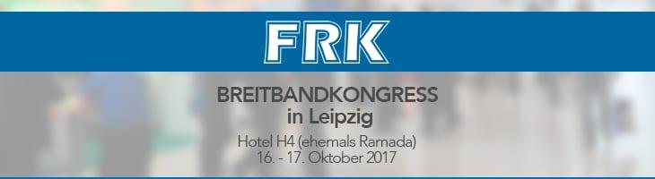 Breitbandkongress des FRK 2017