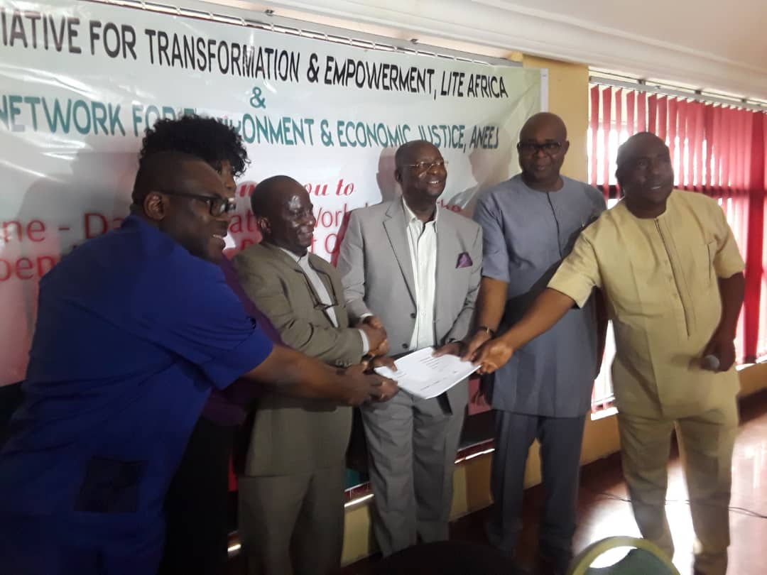 NDDC TO CONDUCT CSO CONSULTATIONS AFTER ANEEJ LITE-AFRICA VALIDATION
