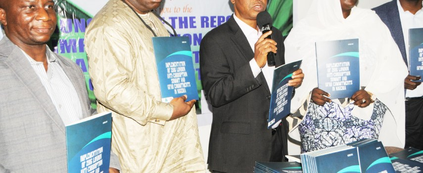 ANEEJ LAUNCHES REPORT ON THE IMPLEMENTATION OF 2016 LONDON ANTI-CORRUPTION SUMMIT AND GFAR COMMITMENTS IN NIGERIA