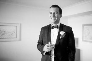 groom happy
