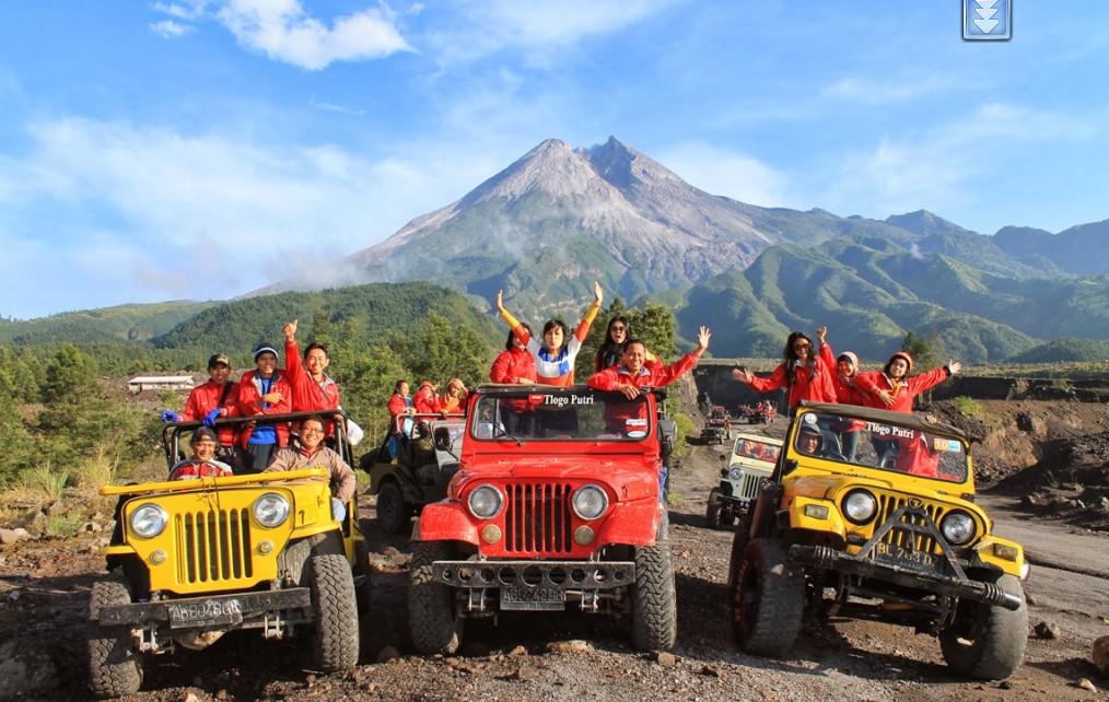 Sejarah Merapi Lava Tour