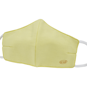 Yellow Cotton Face Mask