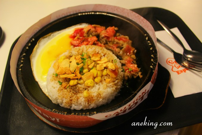 8. Garlic Beef Pepper Rice