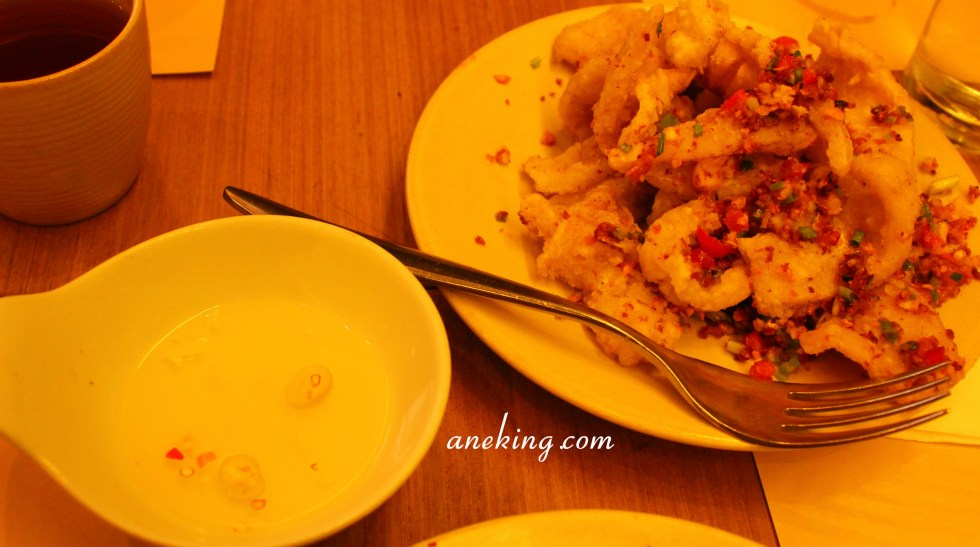 Deep Fried Squid with Spicy Salt and Pepper
