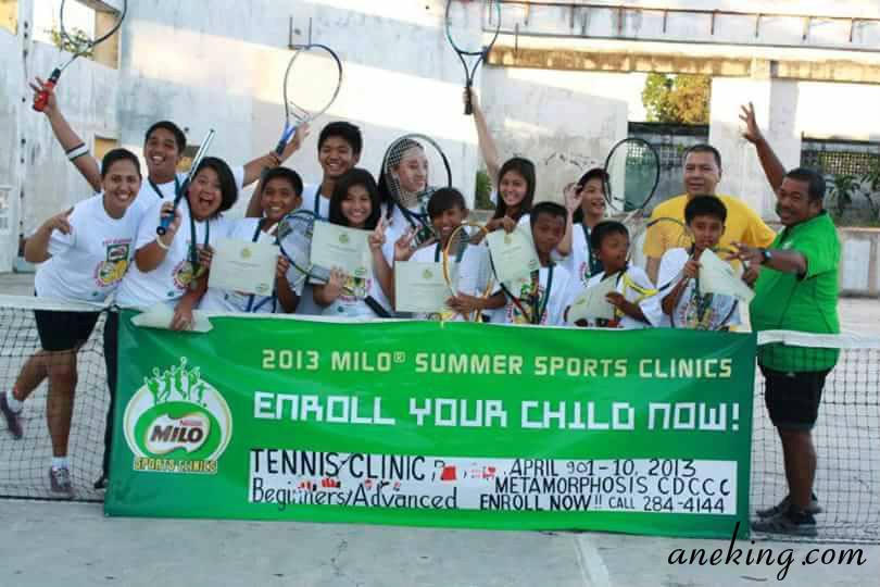 milo summer sports clinics
