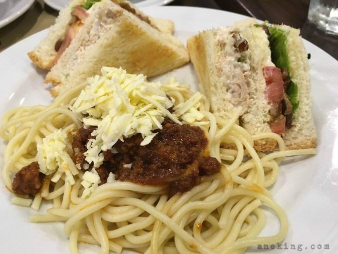 spaghetti club special set