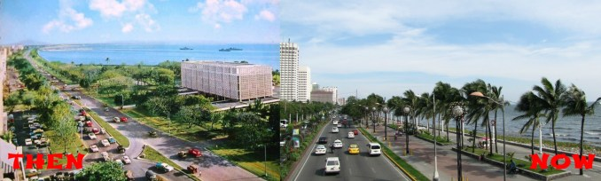 Roxas Boulevard then and now