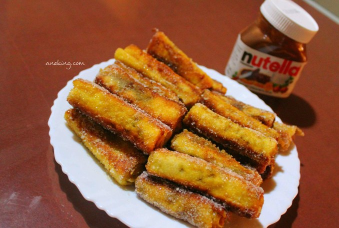 13. Your Nutella Rolls are now done and ready to be eaten.