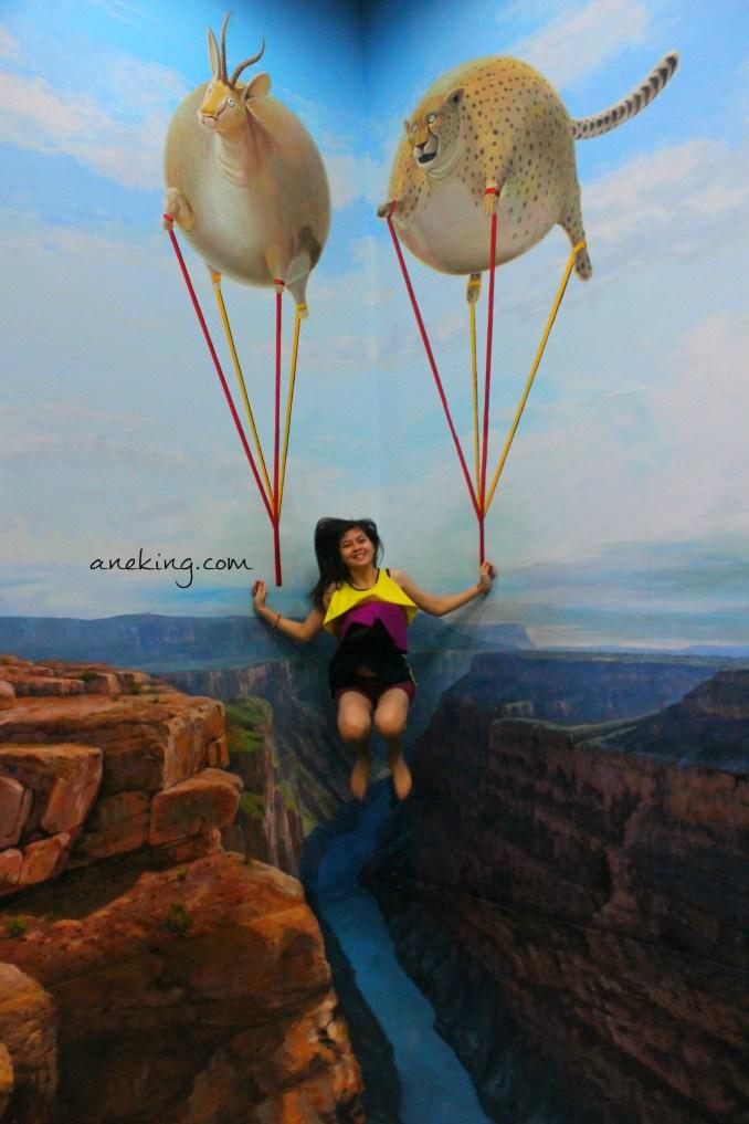 balloon in art in Island