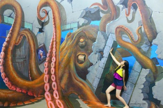 octopus in Art in Island