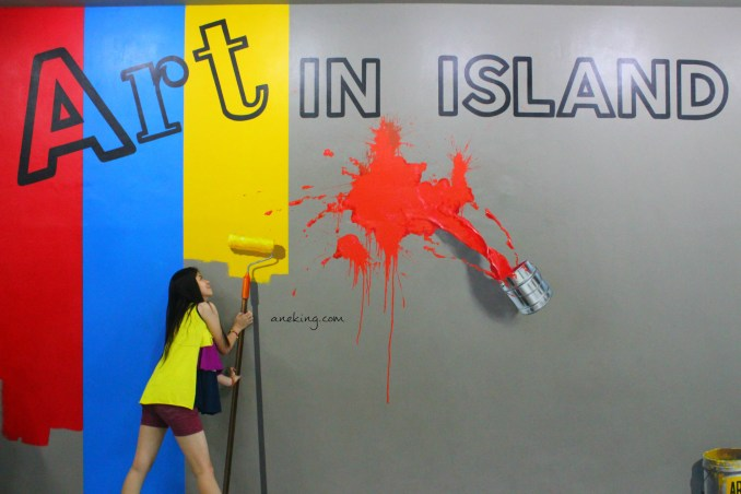 painting in art in island