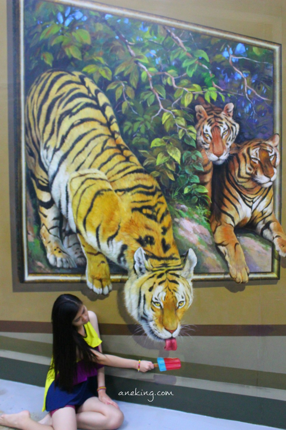 tiger in Art in Island