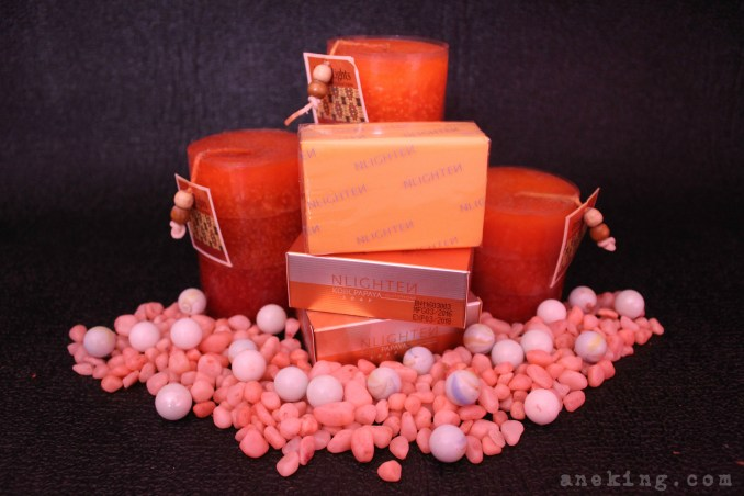 nlighten papaya kojic soap