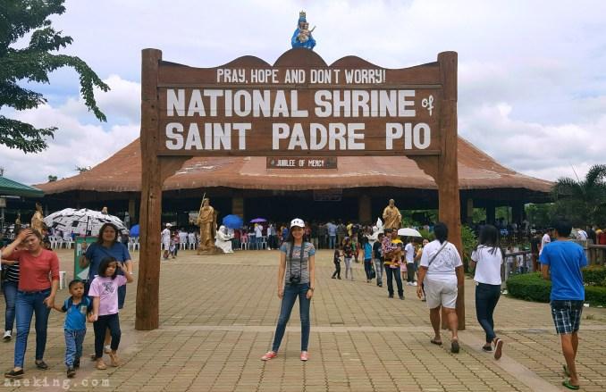 3 National Shrine of St Padre Pio entrance