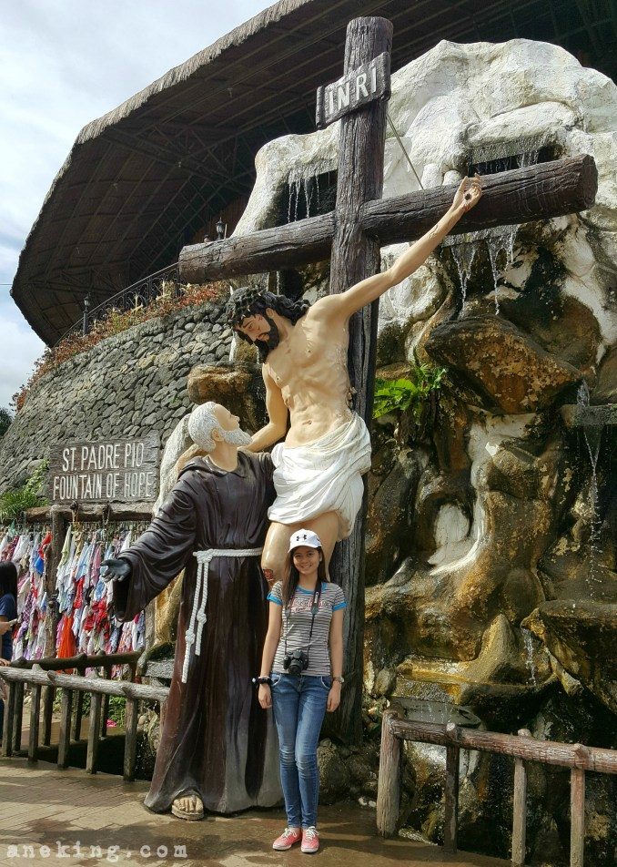 National Shrine of St Padre Pio Fountain of Hope