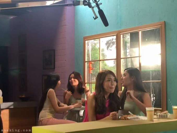 lunch with crush sunsilk tvc