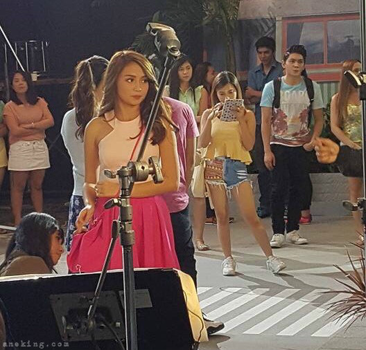 Kathryn Bernardo As The Newest Sunsilk Hairkada TVC BTS - Ane Ventures