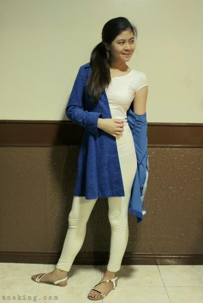 ways to wear blue coat 3