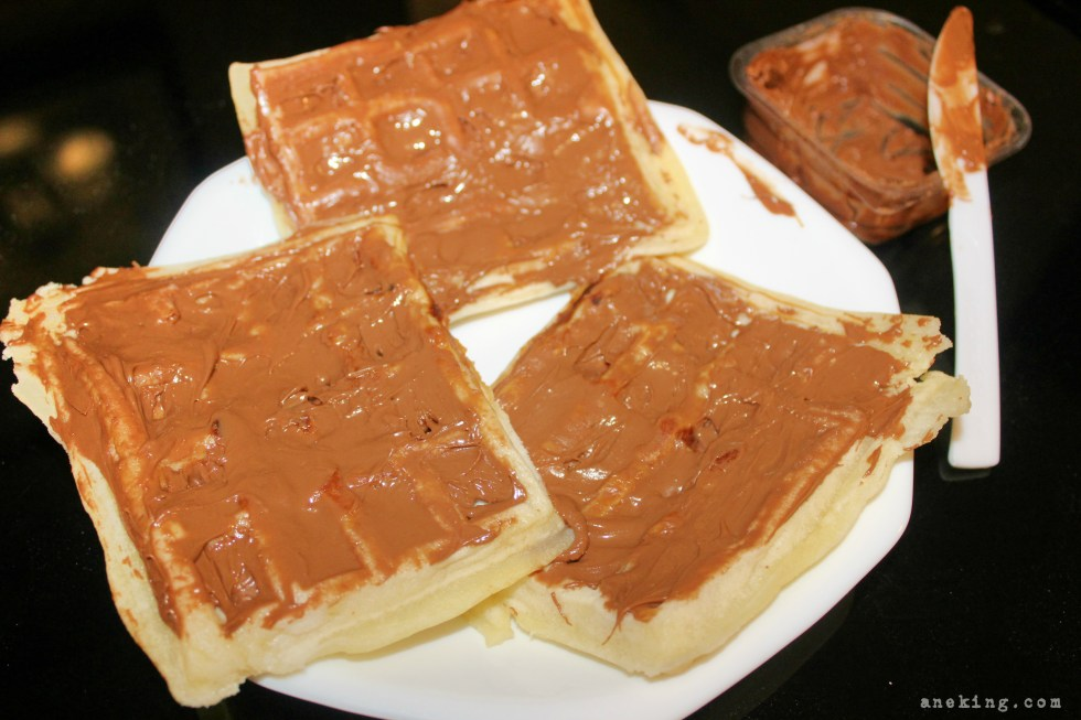 hazelnut waffle step 9
