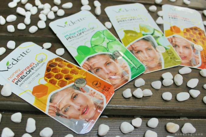 vedette purifying peel-off mask