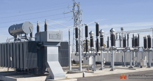 Outdoor Electrical Substation