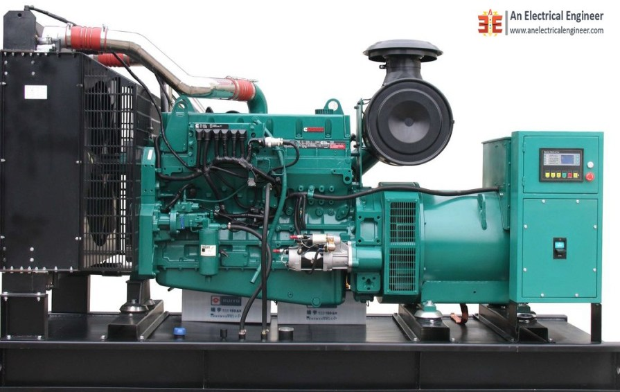Diesel Engine Generator Cooling System - An Electrical Engineer