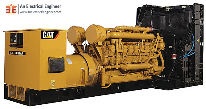 Caterpillar Diesel Engine Generator