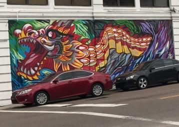 Car-Driving Dragon