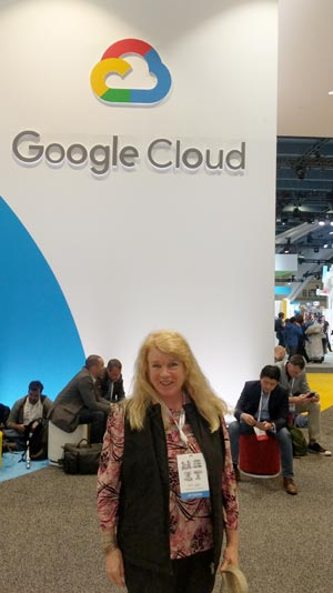 Gooigle Cloud Conference Anet Dunne