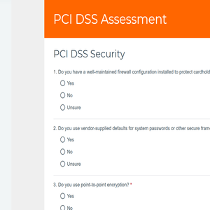 PCI DSS Assessment