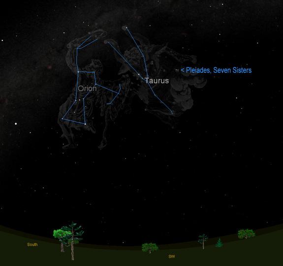 orion-taurus-pleiades-sky-map