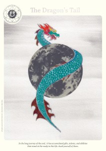 dragon-tail - astrological cards