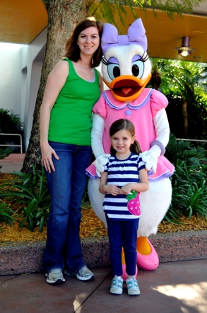 Mamie & Katie at Disney