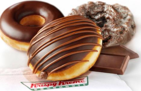 Chocolate Krispy Kreme Donuts