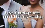 Bucket List - Beautiful Marriage