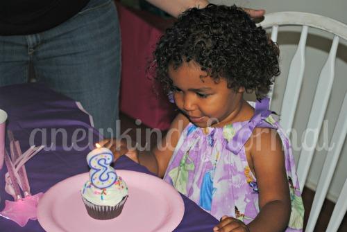 Happy third birthday to Abby