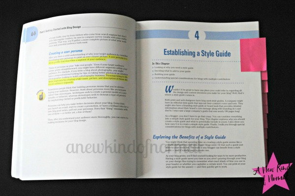 Blog Design for Dummies - inside Look