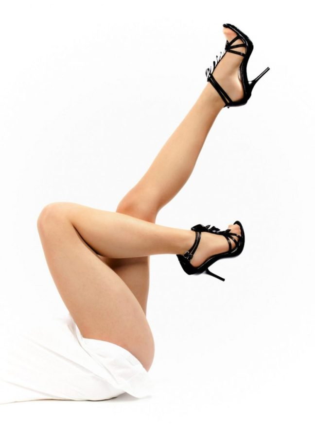 Legs after hair removal