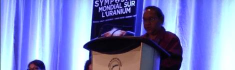 World Uranium Symposium 2015: Barbara Shaw