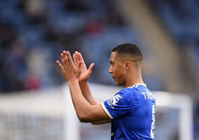 Youri Tielemans of Leicester City